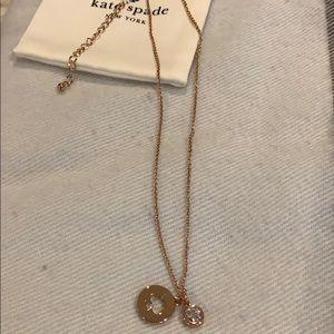 Kate Spade Rose Gold Necklace